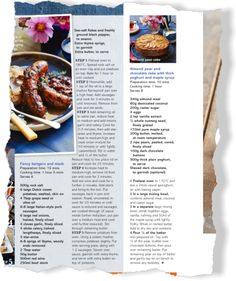 Fabulous food. Clipped from Better Homes and Gardens using Netpage.