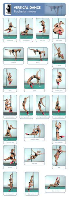 Fitness : Pole Dancing : Vertical Dance : Beginner Moves ...... Kur <3