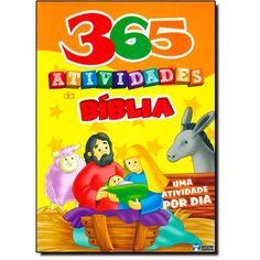 Livro 365 Atividades da Bíblia: Uma Atividade Por Dia em até 6x sem juros | Infantil - 4 a 8 anos | Cia. dos Livros