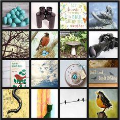 #30DOC Day 9: Backyard Bird Watching treasury @Etsy http://www.etsy.com/treasury/MTEyMzg2Mzh8MjcyMjkyNzEyNA/backyard-bird-watching