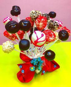 Bayram Şekeri olarak Melek Anne Cakepops Anne, Cupcake, Desserts, Food, Tailgate Desserts, Deserts, Cupcakes, Essen, Cupcake Cakes