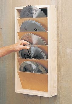 http://www.woodsmithplans.com/plan/saw-blade-rack/
