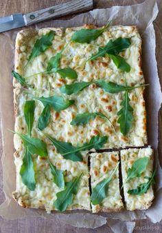 Vegetarian Recipes, Cooking Recipes, Healthy Recipes, Good Food, Yummy Food, No Salt Recipes, Savory Snacks, No Bake Cake, Vegetable Pizza