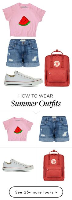 "Summer Outfits : ""Outfit"" by thebandgirl on Polyvore featuring Current/Elliott Convers"