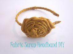 PRETTY PROVIDENCE: Fabric Scrap Headband DIY (HoH115)