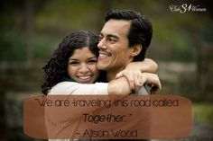 """Best love Sayings & Quotes    QUOTATION – Image :    Short love quote – Description  """"We are traveling this road called Together."""" ~ Alison Wood. Enjoy a deep, strong marriage! Read more here: Keeping the Lines of Communication Open {& Why It's So Vital in M..."""