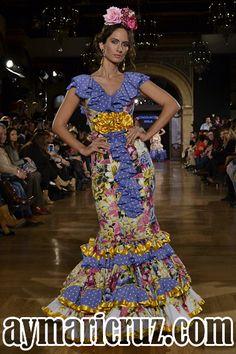 We Love Flamenco 2015. Consolación Ayala: Mis Joyas | Moda Flamenca por Cayetano Gómez vía ¡Ay Maricrú!