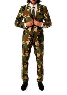 Costume camosuit inflatable adult