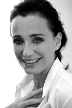 Kristin Scott Thomas by Graham Shearer