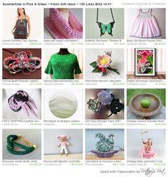 https://www.etsy.com/it/treasury/NDYxNzM2NTh8MjcyNTExMjE3NQ/summertime-in-pink-green-fresh-gift