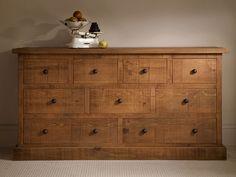 Plank Lowboy, handcrafted by Indigo Furniture Indigo Furniture, Wood Furniture Living Room, Rustic Wood Furniture, Dream Furniture, Pallet Furniture, Cool Furniture, Furniture Design, Lowboy, Bedroom Cabinets
