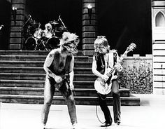 Rock And Roll Photograph - Ozzy Osbourne And Randy Rhoads by Chris Walter