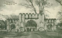 Old Capitol Gate, Georgia Military College, Milledgeville, Ga. - Front Side | Flickr - Photo Sharing!