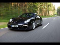 2009 TechArt Porsche Cayman - Front Angle Speed