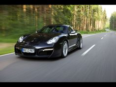2009 TechArt Porsche Cayman - Front Angle Speed