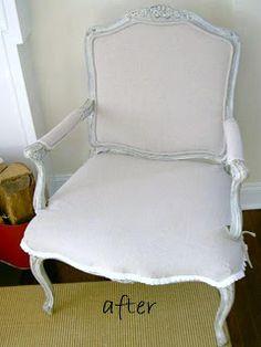 DIY recouvrir un fauteuil