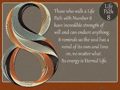 Life Path number 8 is a hardworking, goal-oriented, and some might say materialistic sign. Numerology 9, Numerology Compatibility, Life Path 8, Life Path Number, Number 8 Meaning, Some Might Say, Life Challenges, Oracle Cards, Life Purpose