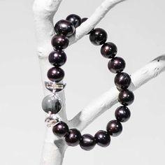 Bracelet Collection 2015 - Perle d'eau douce. Circonférence : 17.8 cm / 7 po.