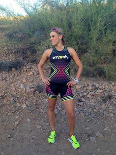 IROCK Tri Top. Looking for something bright and awesome for my next 70.3
