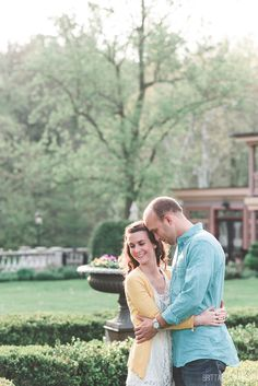 Moonstone Manor Engagement | Loving Embrace | Elizabethtown Engagement