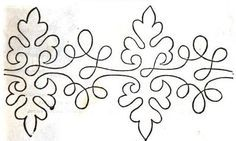 soutache embroidery patterns - Recherche Google