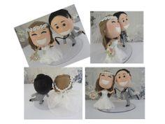 Topo de Bolo para Casamento - Alegria