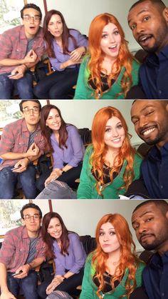 awesome photos! awesome cast! • Shadowhunters • Simon • Jocelyn • Clary • Luke