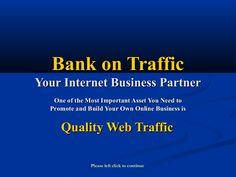 http://bankontraffictk.tk   #Banners_Broker alternative 2013 - #Bank_On_Traffic