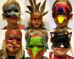 #979 Gör en gipsmask! Foto Ida Bergh, Slöjdklubben i Falkenberg Slöjdtips från www.365slojd.se Masquerade, Halloween Face Makeup, Projects, Project Ideas, Crafts, Carnival, How To Make Mask, Bricolage, Gypsum