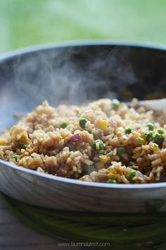 If you need a fabulous and easy recipe for Fried Rice that is better than take-out, than this is it! This is the best ever homemade version that takes about 30 minutes.