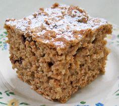 Low Fat Applesauce Cake 67 calories per slice