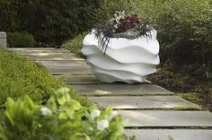 With sculptor Marie Khouri's series of concrete planters, the container is reimagined as contemporary art.