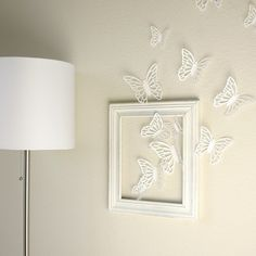 I wonder if you could adopt this design but with birds instead of butterflys. . . ?  How cool would that be?!