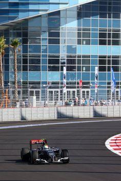 On Track w/the #SauberF1Team at the 2014 #F1 Russian GP @ Sochi