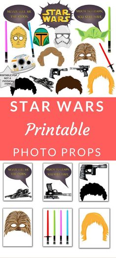 New Birthday Party Photo Booth Props Star Wars 41 Ideas Hq Star Wars, Star Wars Party, Star Wars Birthday, Girl Birthday, Birthday Nails, Birthday Party Decorations, Birthday Parties, Birthday Crafts, Birthday Bash