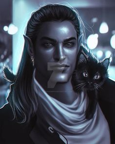 Drow Male, Character Inspiration, Character Art, Morgoth, Research Images, Creatures Of The Night, Dark Elf, Fan Art, Dark Fantasy Art