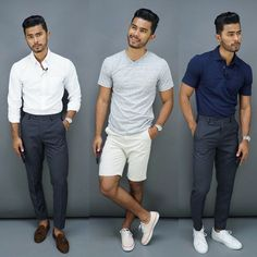 """9,009 Likes, 419 Comments - Teaching Men's Fashion (@teachingmensfashion) on Instagram: """"Which look do you prefer 1, 2 or 3? By the way, all these clothes are from @walmart  Click the…"""""""