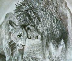 My Friend, Lion Sculpture, Portraits, Statue, Drawings, Gift, Artwork, Work Of Art, My Boyfriend