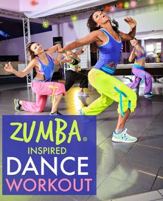 FREE Zumba inspired Latin dance video workout on Tone-and-Tighten.com