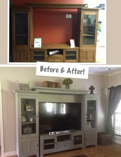 Annie Sloan chalk paint makeover! It was my first time using chalk paint!!