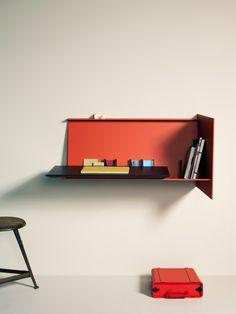 Desk pad is a design by Eric Degenhardt for Böwer
