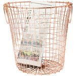 Copper Wire Waste Paper Basket