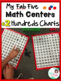 Flash Blog Post! Five Math centers that are fast to assemble, easy to update, and that keep kids learning all year long! Part 2.