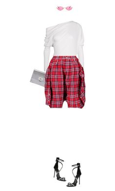 """""""All my babies bling"""" by nastasiaboursi on Polyvore featuring Giuseppe Zanotti, Tom Ford, Proenza Schouler, R13 and Gucci"""