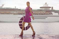 Cruise bound? When you'll be surrounded by gorgeous sights, you'll feel luxurious and want to dress up. Be prepared with at least one va-va-voom dress and pair it with some awesome wedges.