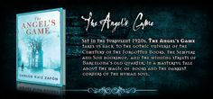 The Angels Game by Carlos Ruiz Zafón. Companion to Shadow of the Wind!!