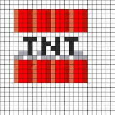 Minecraft_TNT_Block by Azhuresjewels on Kandi Patterns