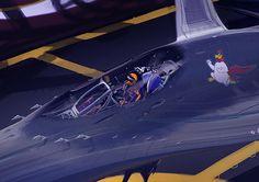 chickenjet cockpit down by Al Brady