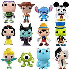 Set of Disney Pop Series 1. I have Mickey, Snow white, Pinocio and Jiminy cricket!