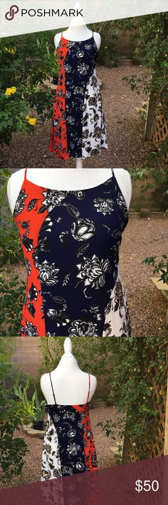 VINCE CAMUTO 3 Patch Dress I love ❤️ this New with tags VINCE CAMUTO dress. Too bad it does not fit me Boo! Perfect for day or evening. Vince Camuto Dresses